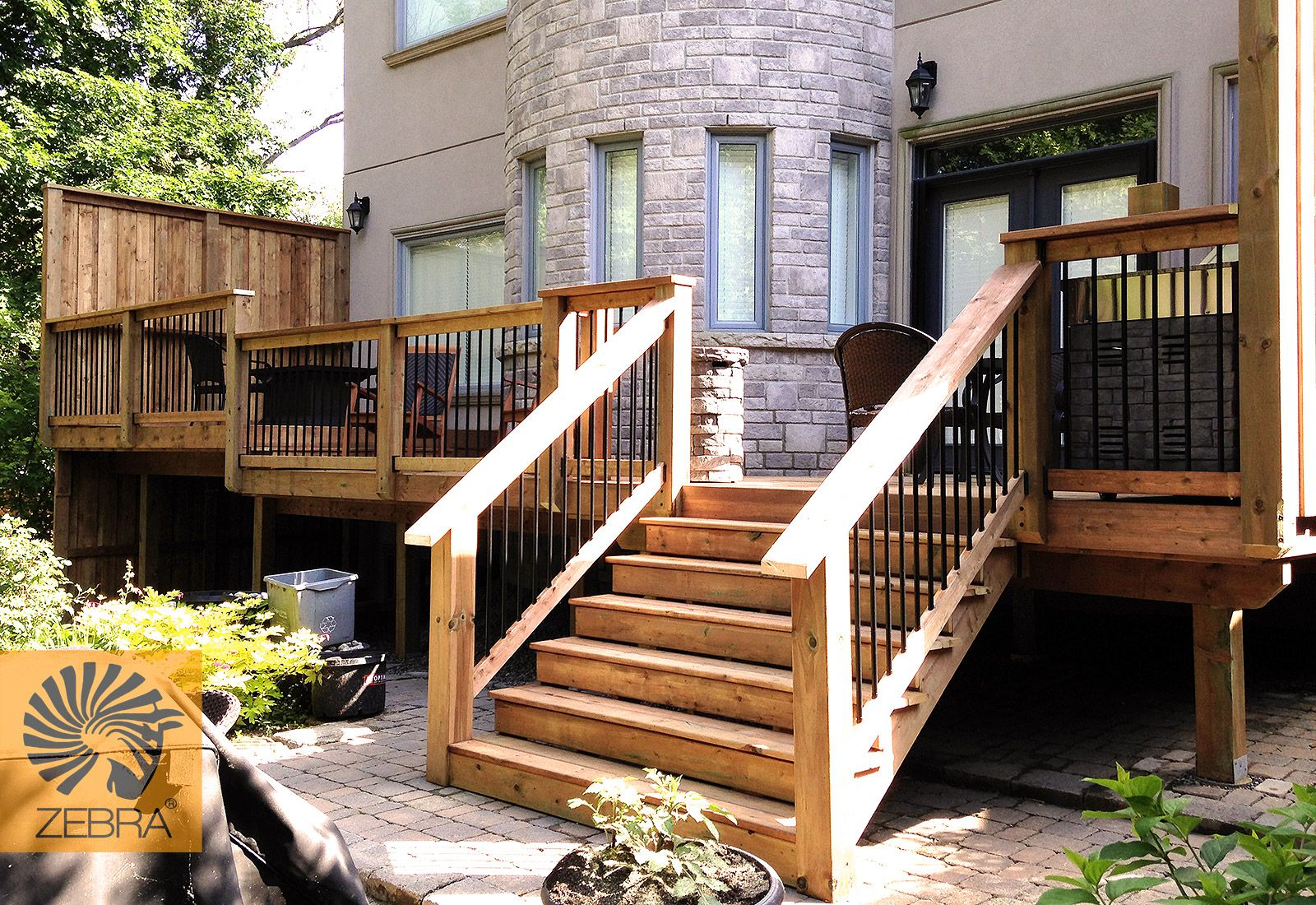 Best 6X6 Railing Posts Two Level Deck Bbq Area On Deck Deck 400 x 300
