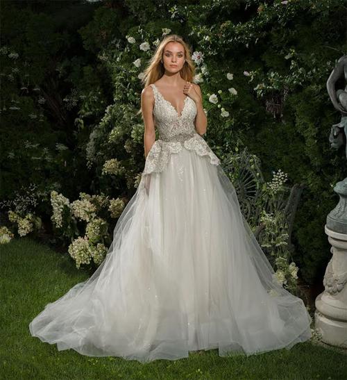 Eve Of Milady: Bridal Gown: A-Line: Natural Waist | KleinfeldBridal ...