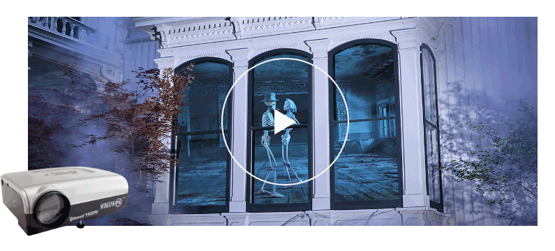 FX Window Projector Halloween window, Halloween window