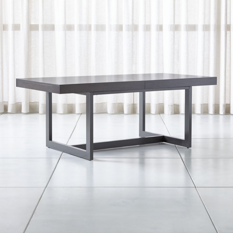 Archive Extension Storage Dining Table Reviews Crate And Barrel Contemporary Dining Table Dining Table With Storage Dining Storage