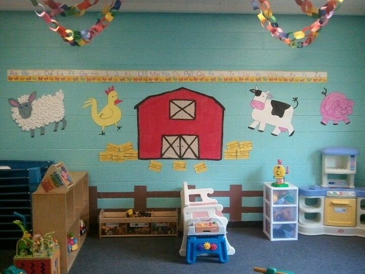 This Is My 1 Yr Old Daycare Room It Was So Much Fun To Decorate And The Kids Love It