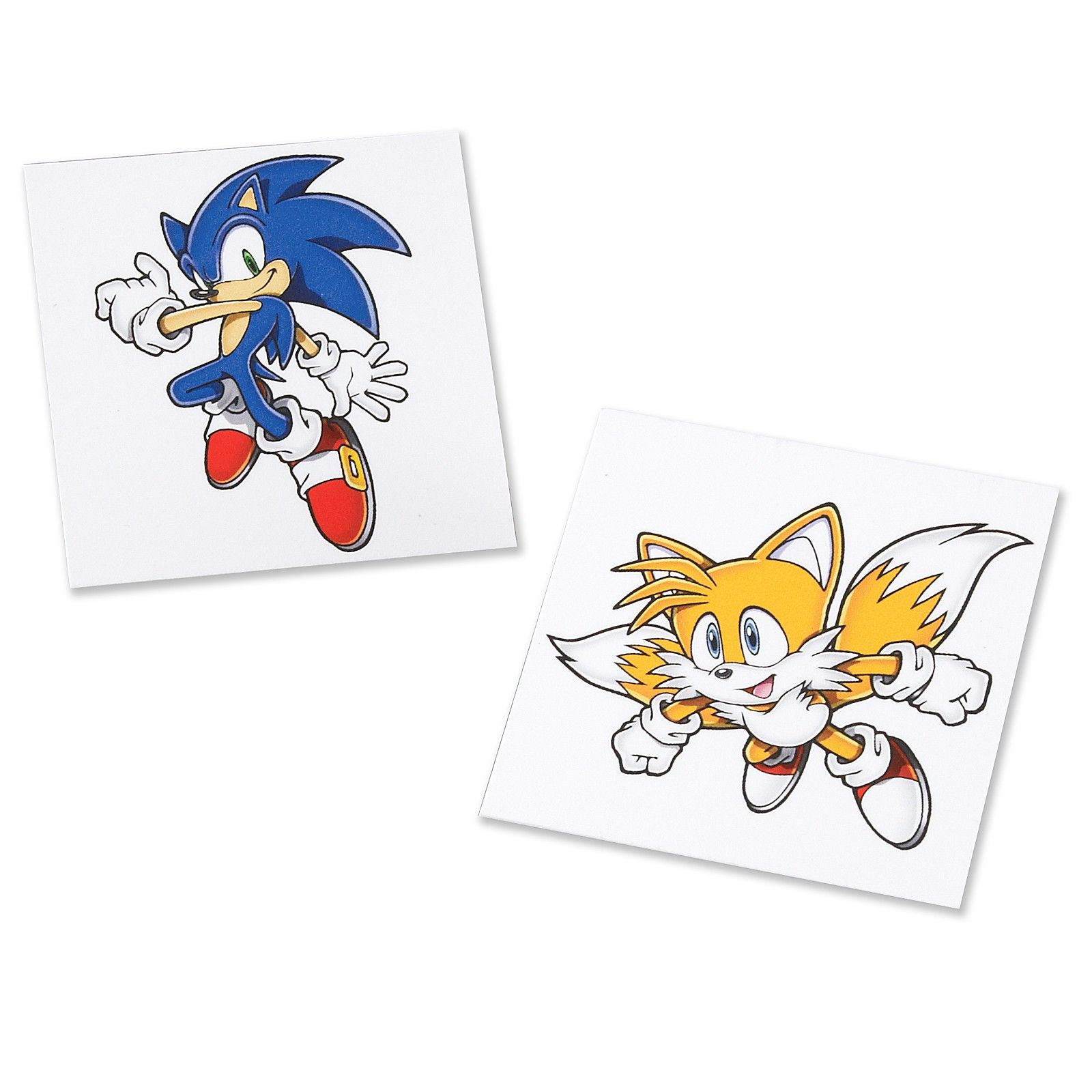 I like Sonic in this pose for sure. Maybe I'll add Tails