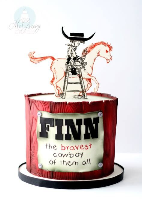 Cute Cake for a little Cowboy/Cowgirl