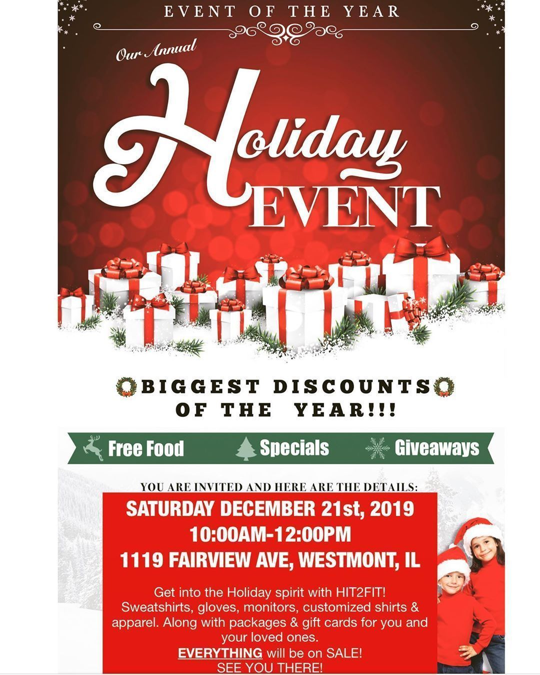 discount event #Rabatt discount event #Rabatt discount event #rabatt This Saturday is our Hit2Fit Ho...