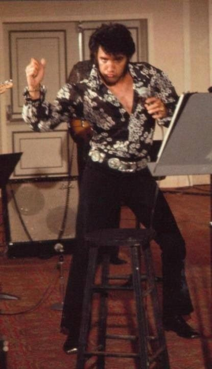 Elvis... He had the moves :)