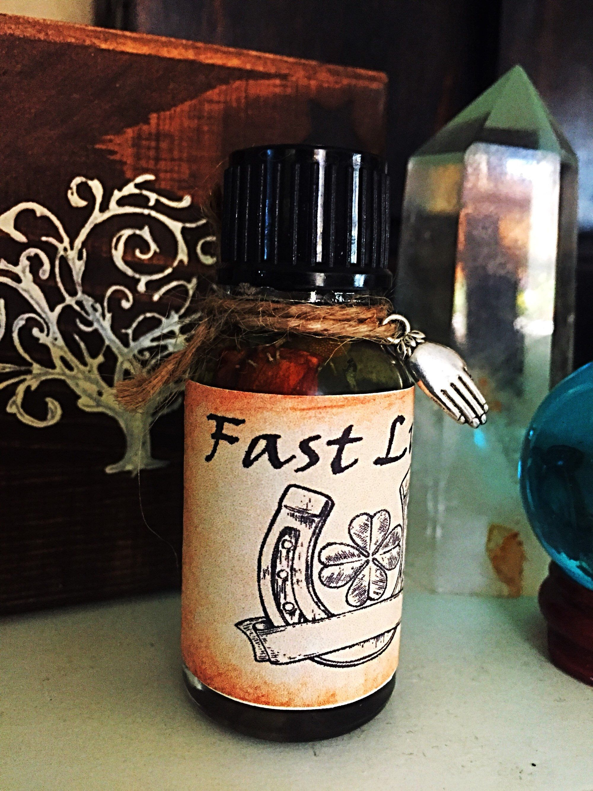 Fast Luck Oil,Witchcraft,Wicca,Conjure,Hoodoo | Witchcraft and