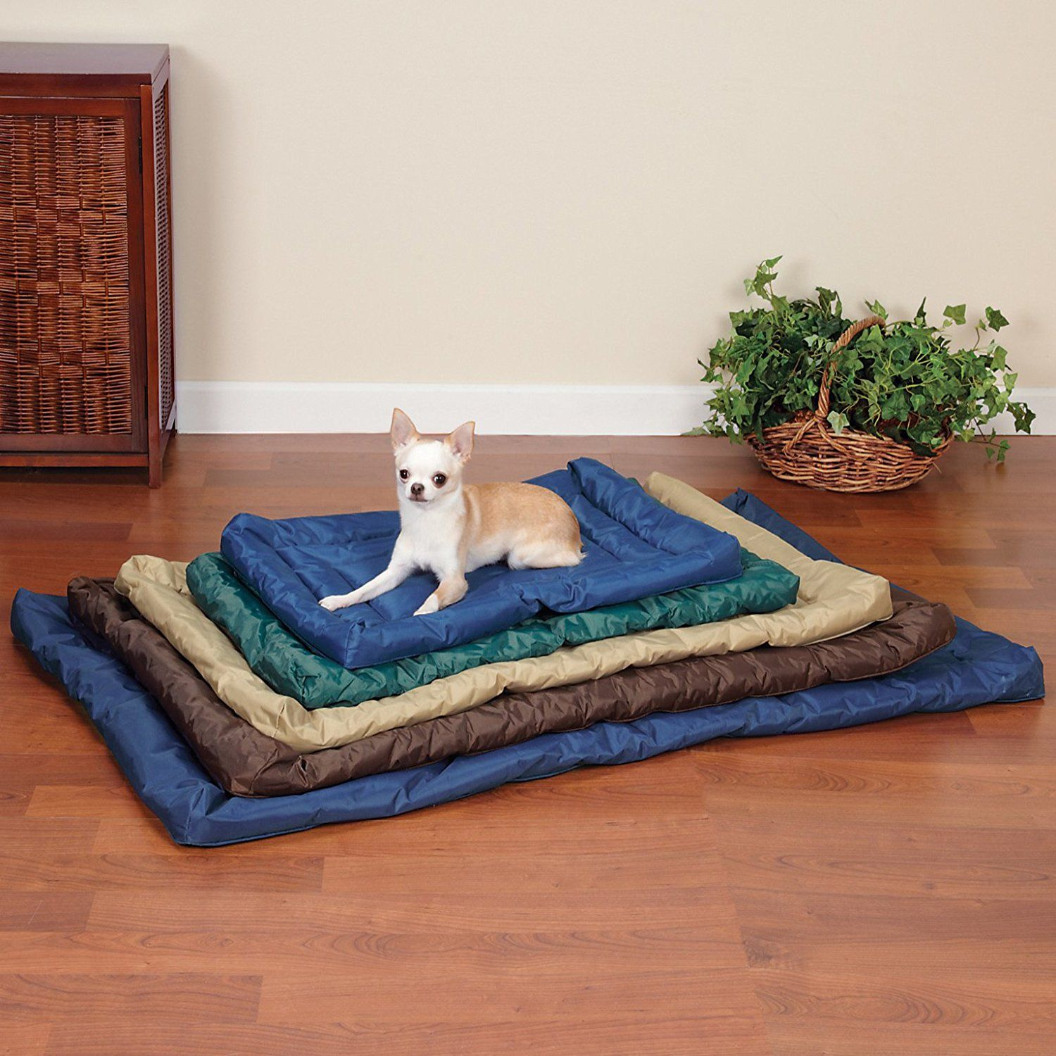 Kratos Aegean Blue Crate Cover Up Set Dog crate cover