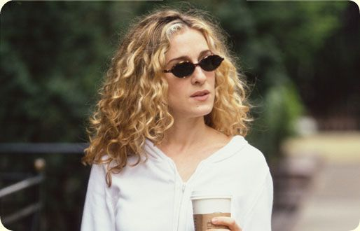 Carrie Bradshaw Hair Season 1 Big Natural Curly Hair Maybe Just