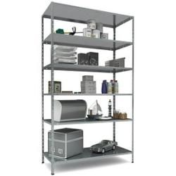 Photo of Sz metal heavy duty shelf silver sz metal