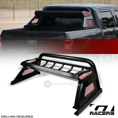 Sponsored Ebay For 2019 2020 Dodge Ram Matte Black Chase Rack Truck Bed Roll Bar Cargo Basket In 2020 Ford Ranger Truck Bed Ford Ranger Truck