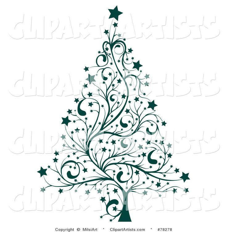 Free Printable Black And White Christmas Trees Description From Pinterest Com I Searche Christmas Tree Drawing Christmas Tree Clipart Whimsical Christmas Art