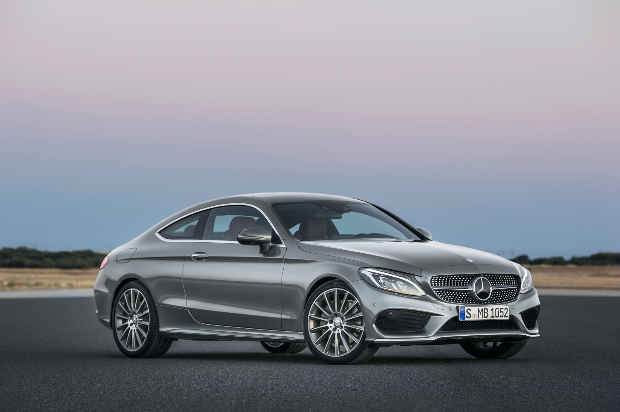 2017 Mercedes Benz C300 Coupe Debuts With Fabulous Two Door Design