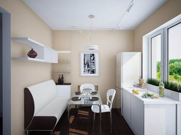 meilleur salle manger et cuisine combo pour petit espace. Black Bedroom Furniture Sets. Home Design Ideas