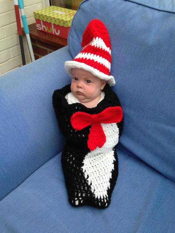 Cat in the Hat Cocoon & Top Hat | Pinterest | Basteln