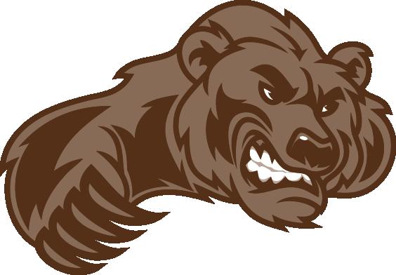 Bear Clr Png 564 392 Sports Logo Design Hockey Logos Bear Logo