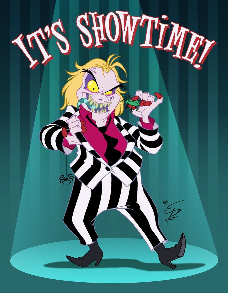 Beetlejuice By Eltonpot Deviantart Com On Deviantart Beetlejuice Cartoon Beetlejuice Characters Beetlejuice Fan Art