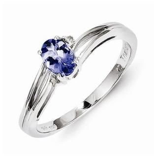 https://ariani-shop.com/925-sterling-silver-colored-w-white-gold-diamond-tanzanite-oval-engagement-ring-01-cttw-2mm 925 Sterling Silver Colored w/ White Gold Diamond & Tanzanite Oval Engagement Ring (.01 cttw.) (2mm)