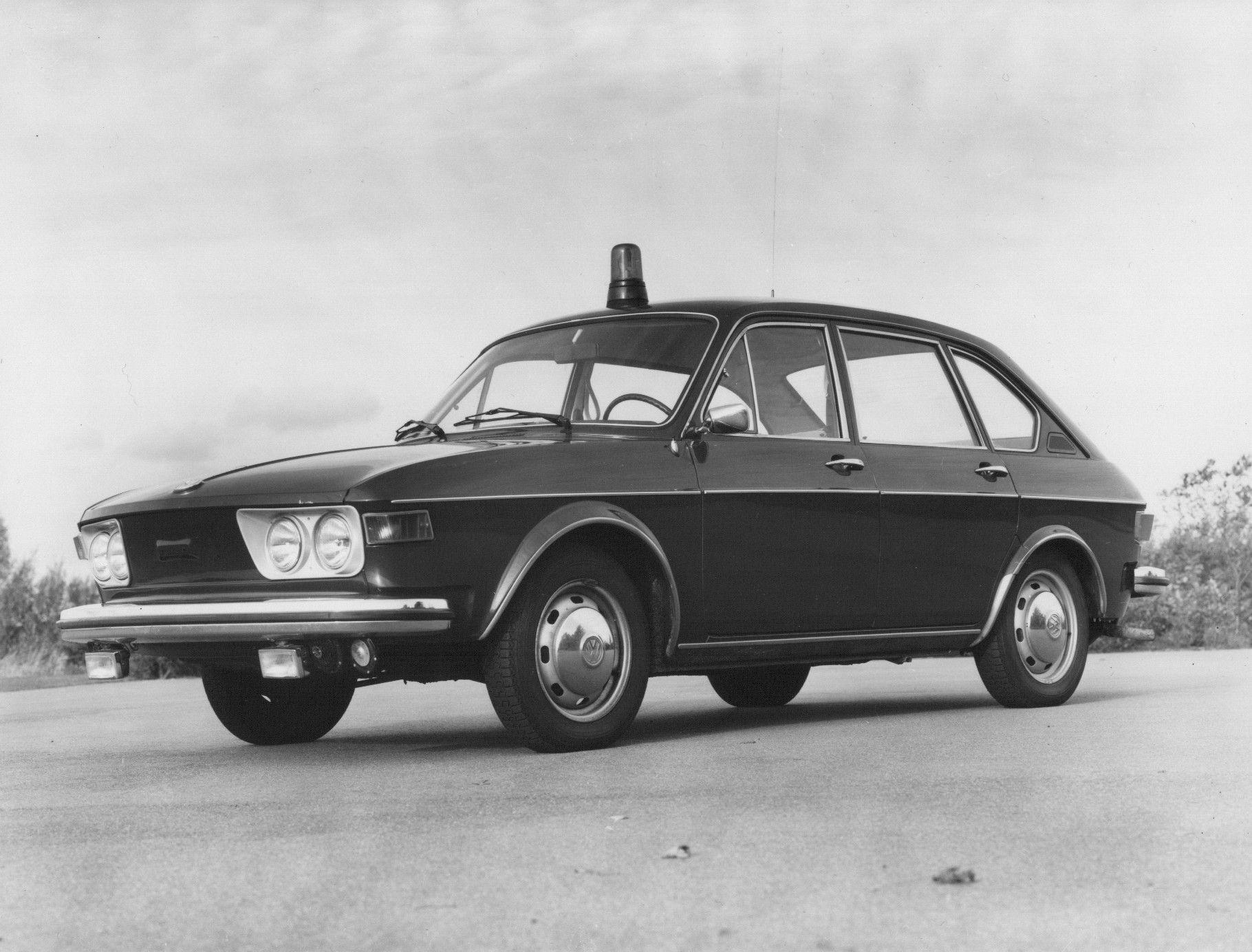 VW Polizei 412