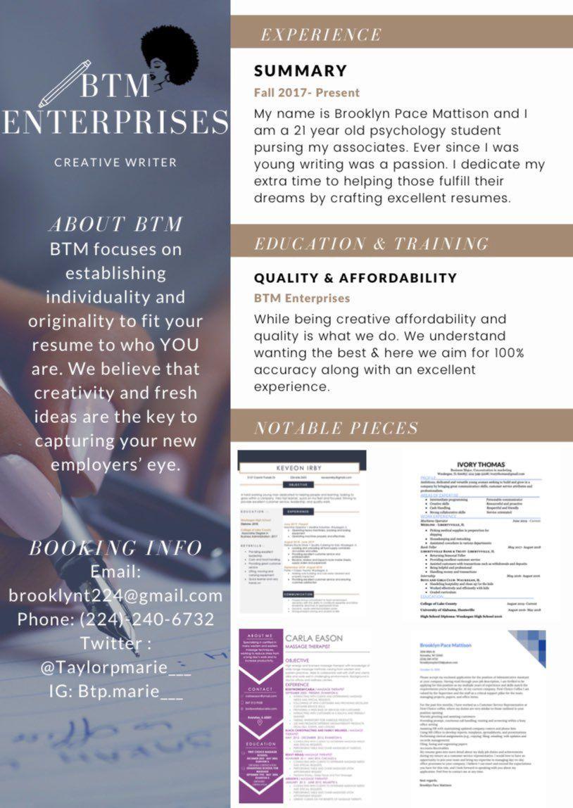 BTM Enterprises in 2020 Psychology student, Student, Writing