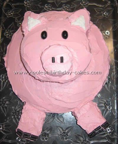 20+ Coolest Pig Birthday Cake Ideas