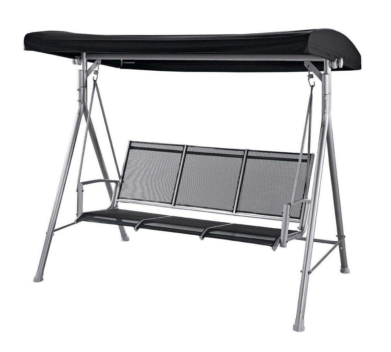 Buy malibu seater garden swing chair black hammocks and swing
