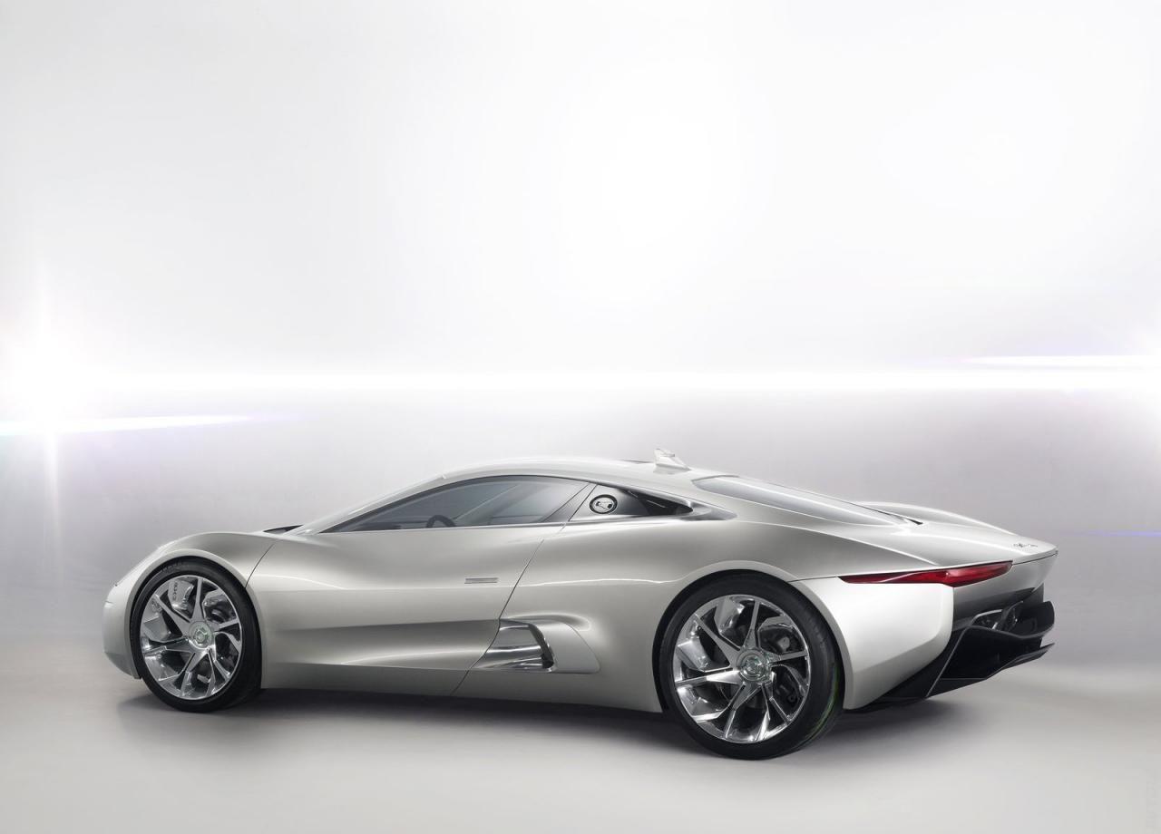Фото › 2010 Jaguar C X75 Concept