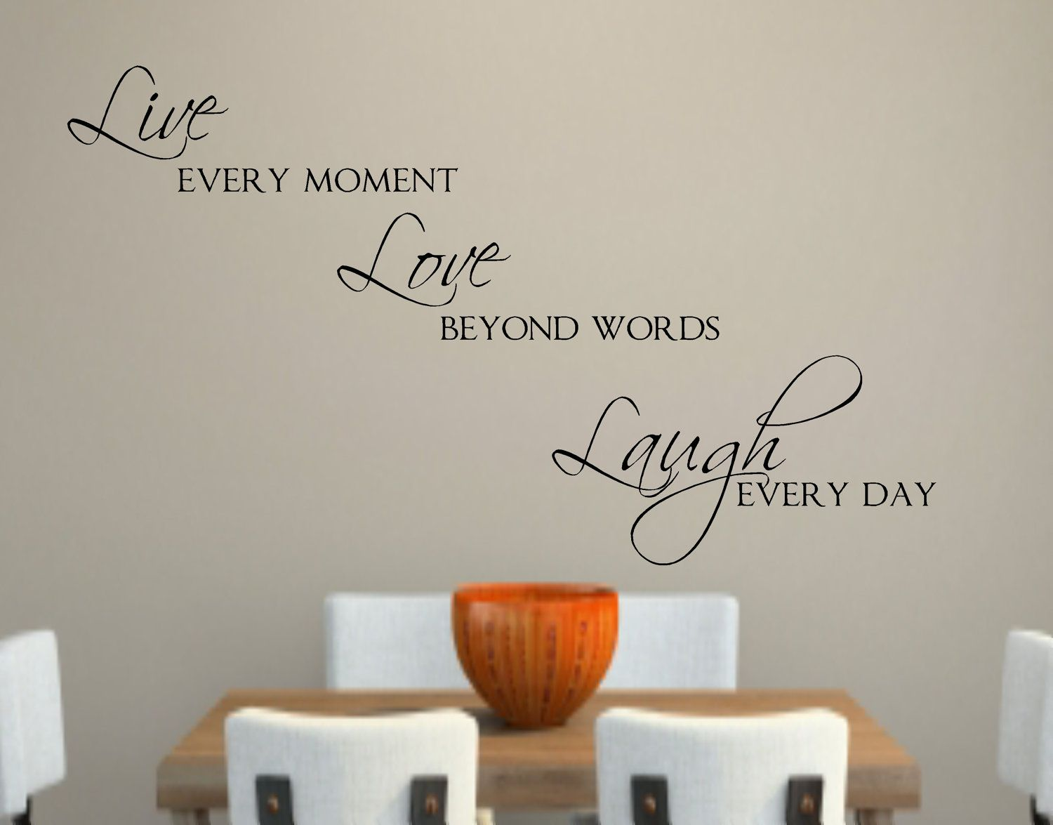 Charmant Live Love Laugh Vinyl Wall Decal Decor Lettering By Landbgraphics