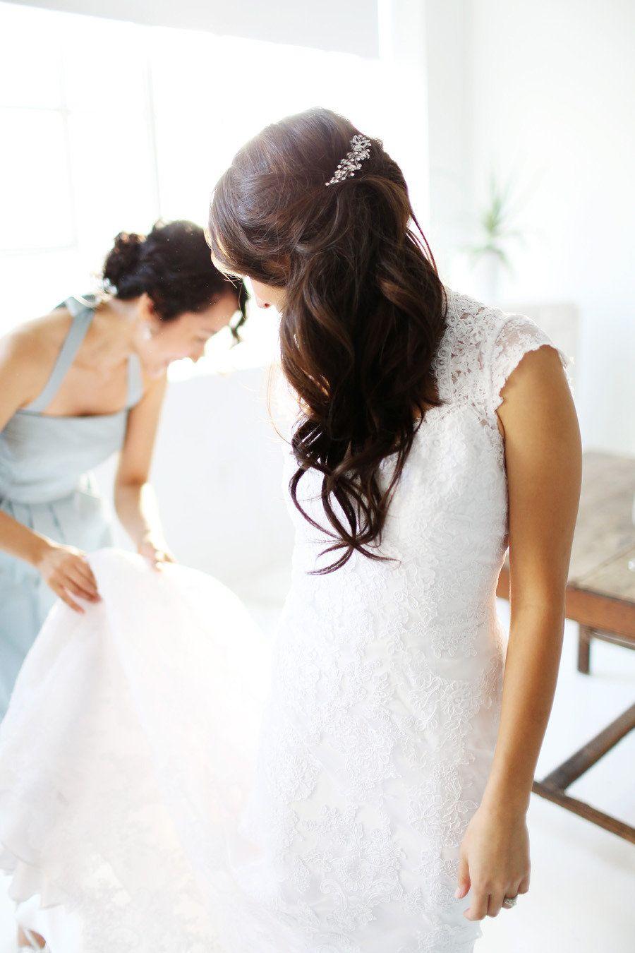 Nyc indoor garden wedding from angelica glass floral designs