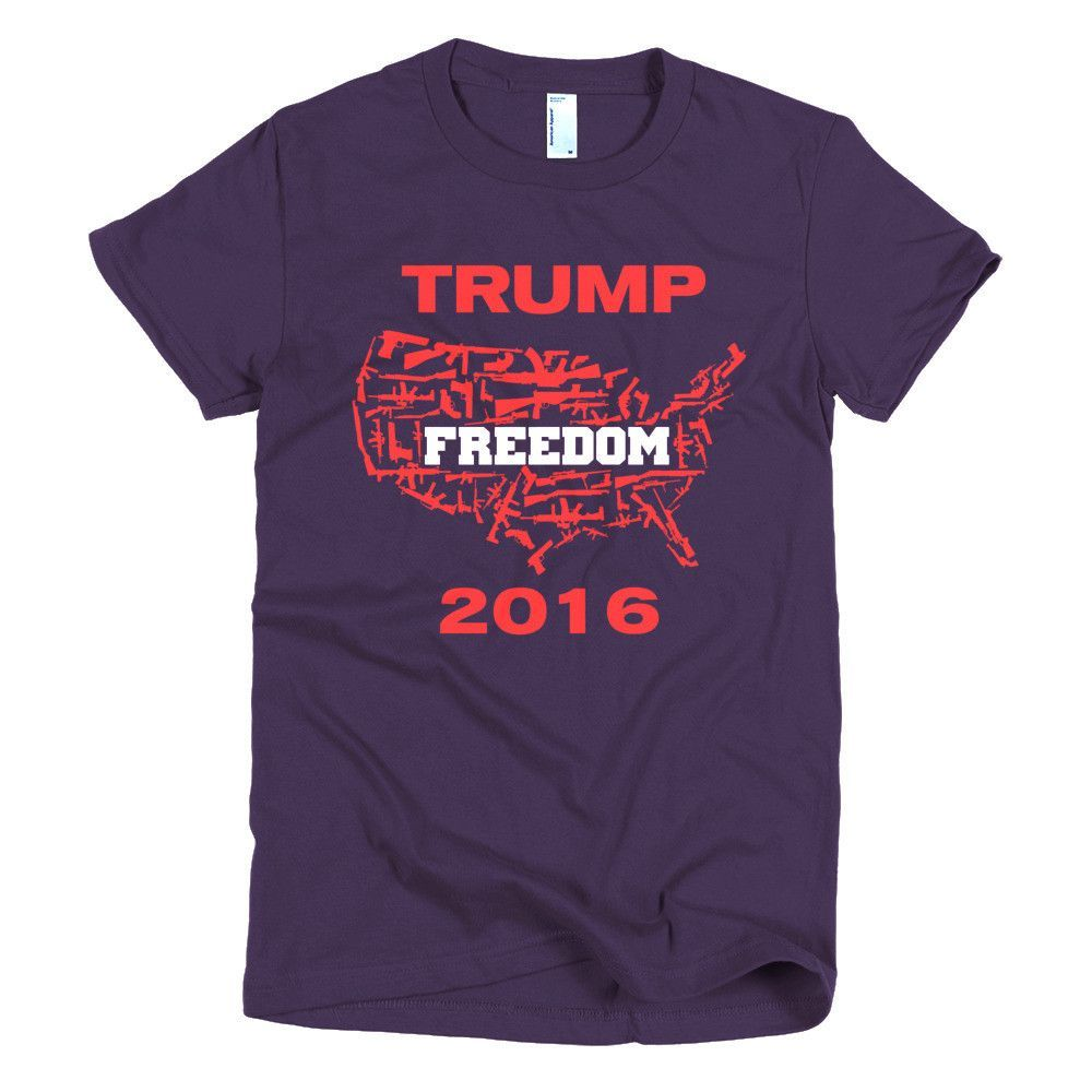 United States of America Freedom 2nd Amendment Rights women's tee shirt
