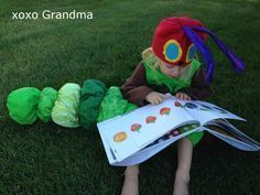 The Very Hungry Caterpillar Costume with how to make this costume ideas.