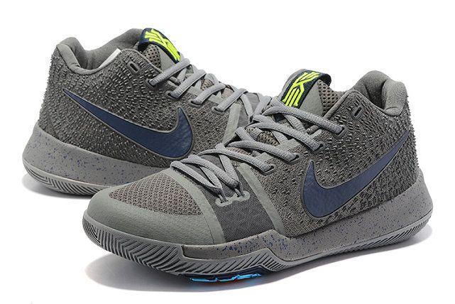 Legit Cheap Cool Grey Polarized Blue Kyrie 3 III Mens Basketball Shoes 2018  Wholesale