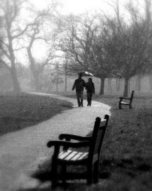 Caminar bajo la lluvia