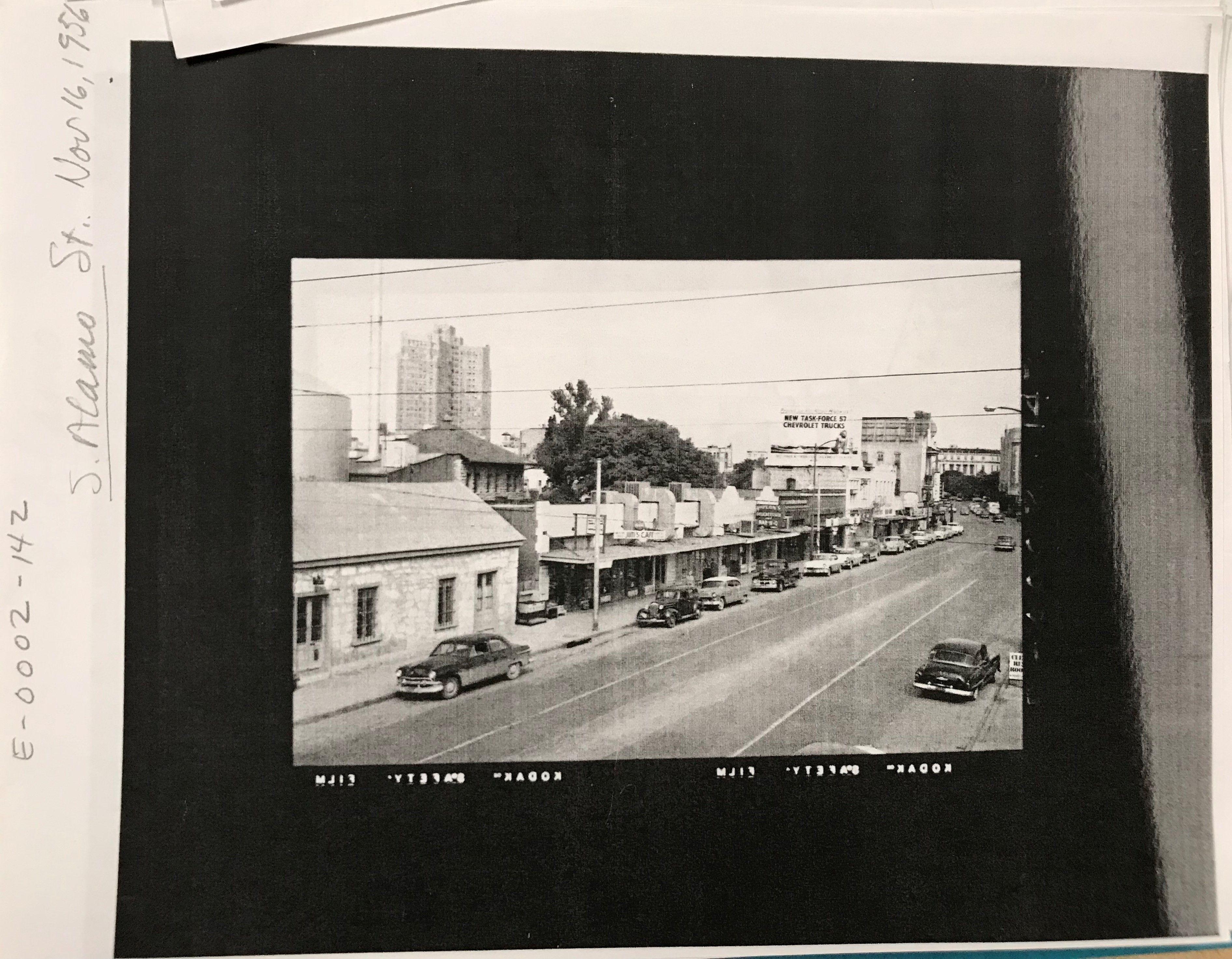 Panoramic Print 1873-23 x 30.19 San Antonio Texas