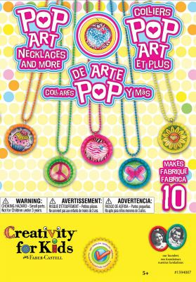 Just Add Cheer Michaels Store Art Necklaces Kids Pop