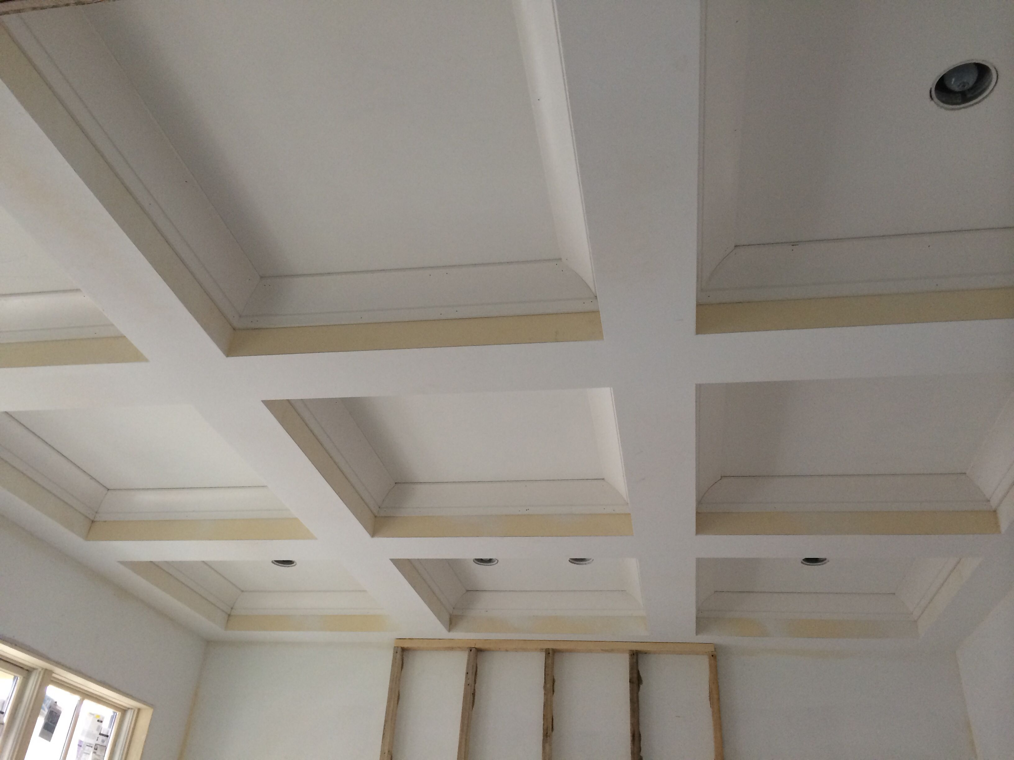 331 Coffered Ceiling Looking Good