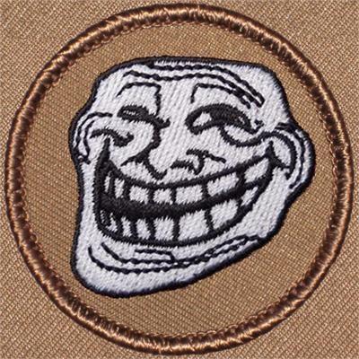 Yin Yang Patrol Patch!! #617 Cool Boy Scout Patches