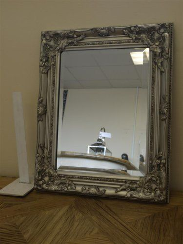Best Selling French Silver Shabby Vintage Antique Style Wall Mirror ...