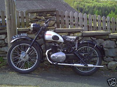 1952 Ambassador 1952 Ambassador 197cc Villiers Engine Classic Motorcycles Classic Bikes British Motorcycles
