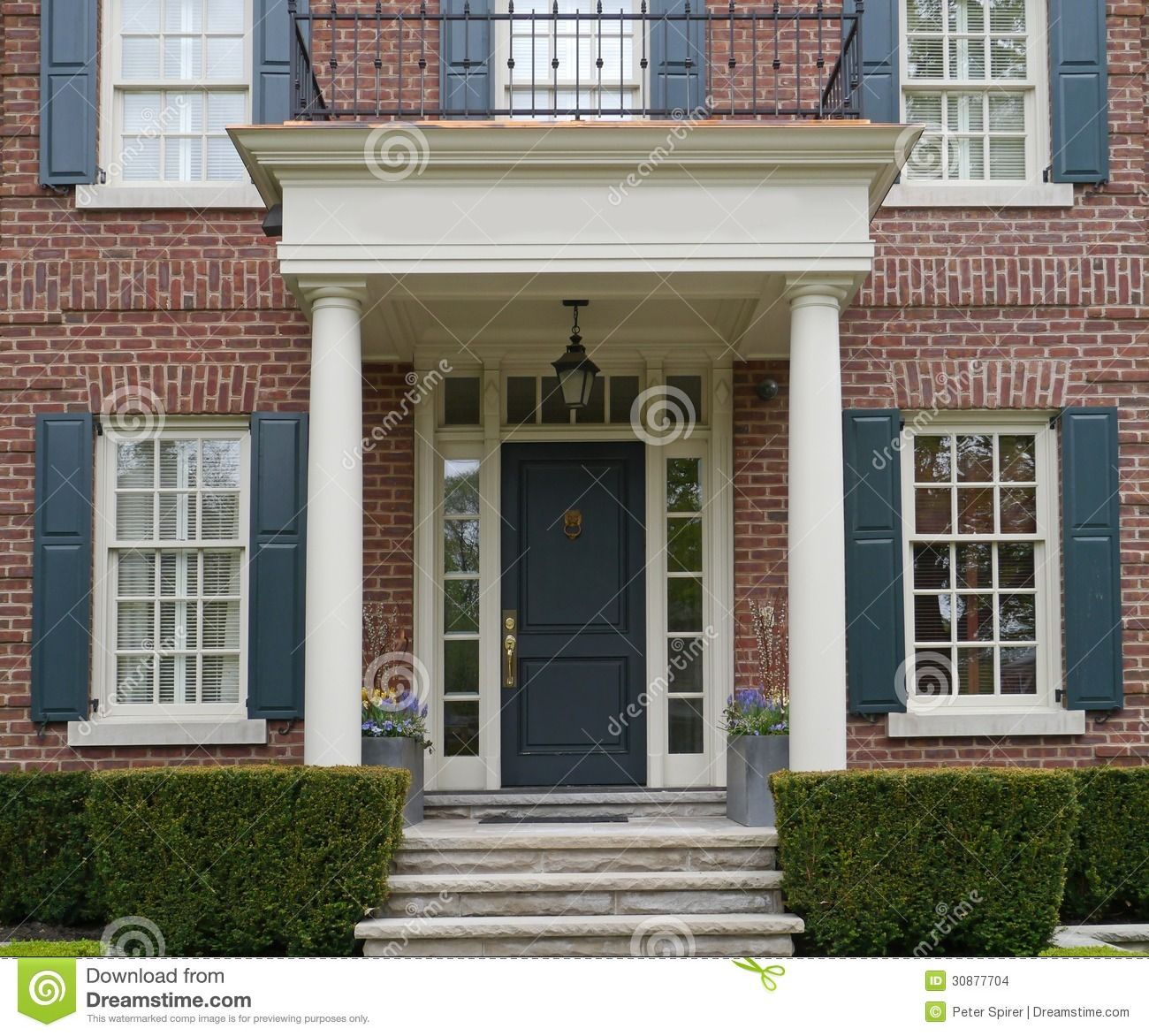 Covered front porch craftsman style home royalty free stock image - Picture Of Front Door Of House With Porch Ottawa May 2013 Stock Photo Images And Stock Photography