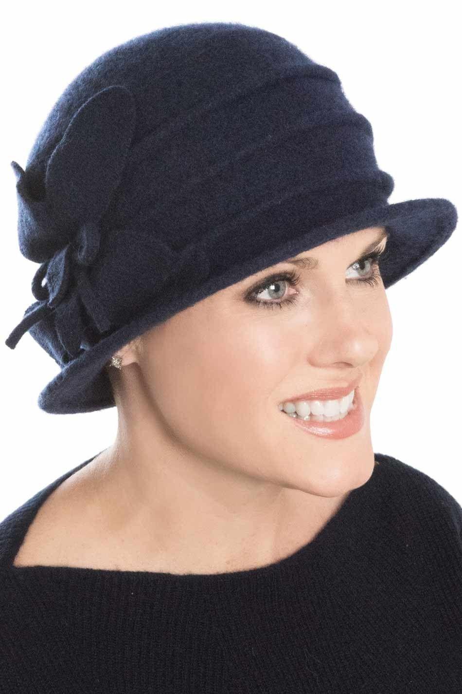 806cd4411bd Fleece Ireland Cloche Hat for Women - Winter Cancer   Chemo Hat