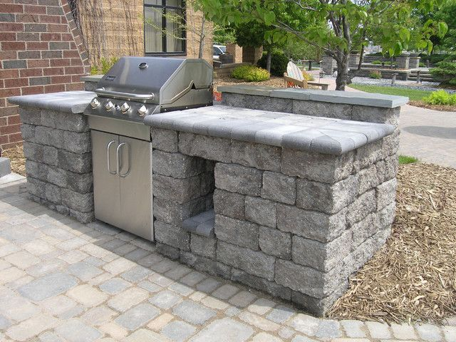 How to build an outdoor block wall google search for Block outdoor kitchen
