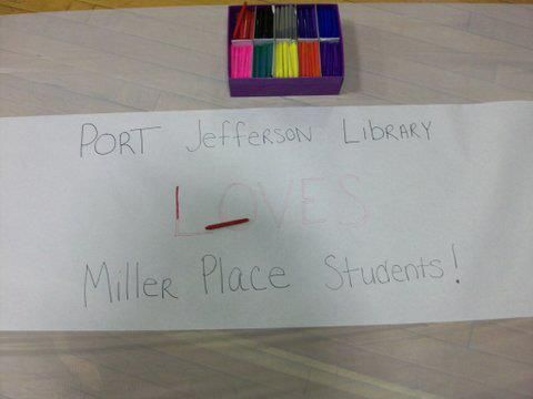 Port Jefferson Library has teamed with the Miller Place PTO to provide January rec nights at the Middle School.