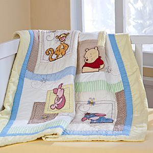 Winnie the Pooh Quilt for Baby - Heirloom - Personalizable ... : pooh quilt - Adamdwight.com