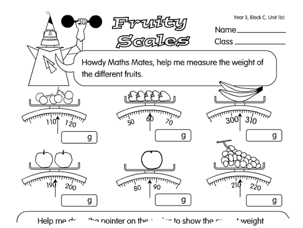 Reading Scales Year 3
