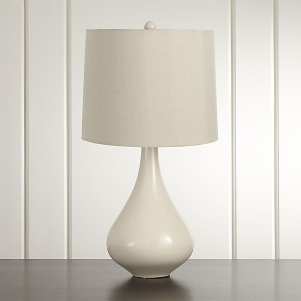 Kathryn table lamp crate and barrel