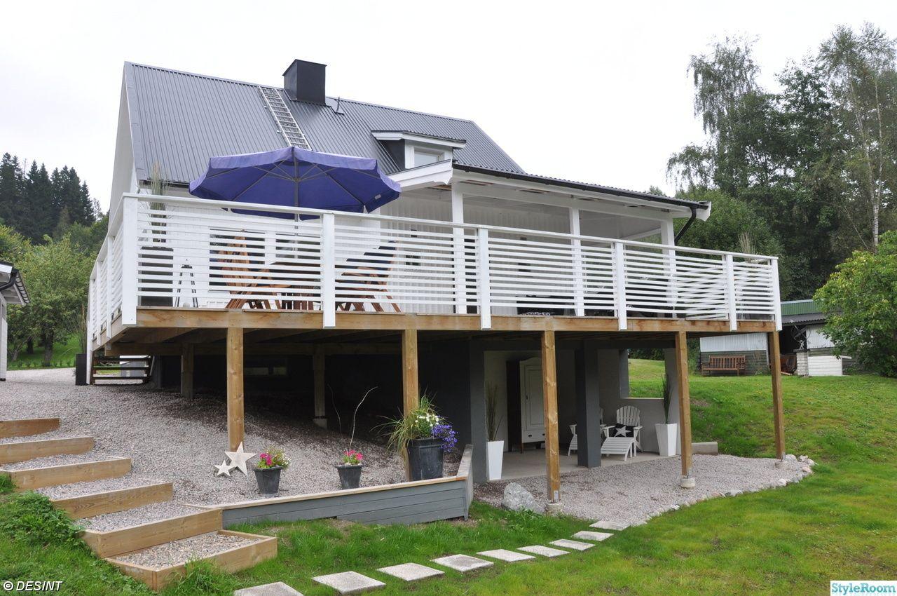 uterum,altan,altanräcke,trädäck   Altaner   Pinterest   Porch and ...