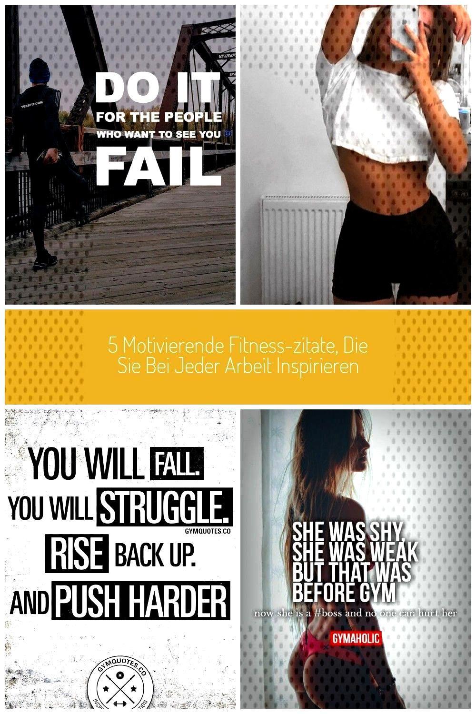 Fitnesszitate Motivierende Inspirieren Motivation
