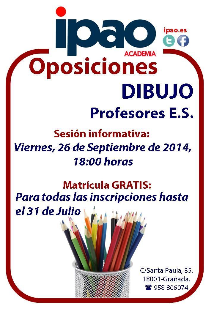 Preparación de las oposiciones de Dibujo