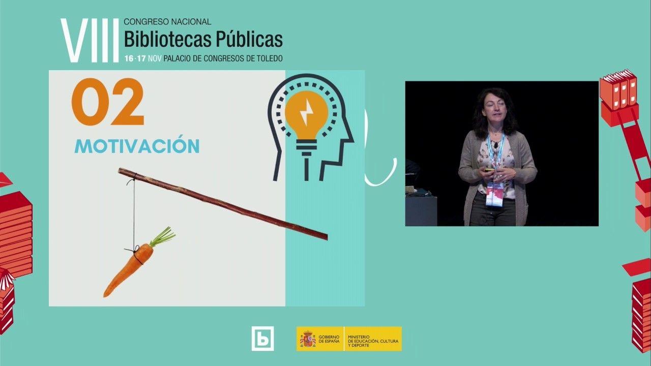 La gamificación como estrategia para aumentar la participación y fidelización de usuarios. Ponencia de Ana Ordás en el VIII Congreso Nacional de Bibliotecas Públicas