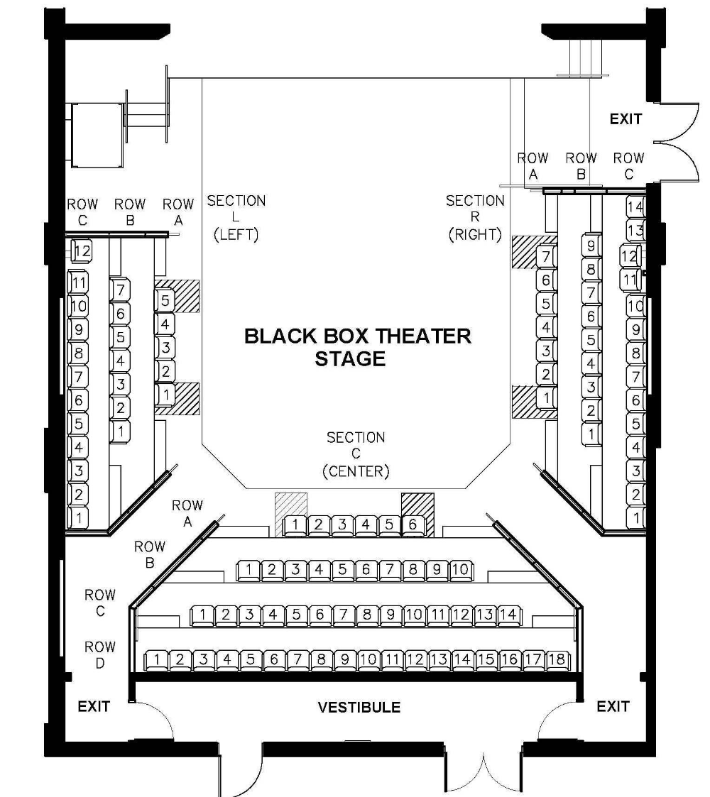 Box Stage Diagram User Guide Of Wiring Diagram Theater Seating Theater Plan Theatre Architecture